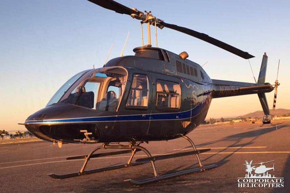 1981 Bell 206 BIII JetRanger for sale at Corporate Helicopters of San Diego. Call (800) 345-6737 for more info.