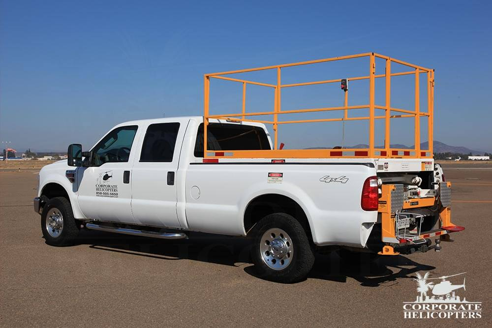 2008 F350XL Scissor Lift Truck, extended