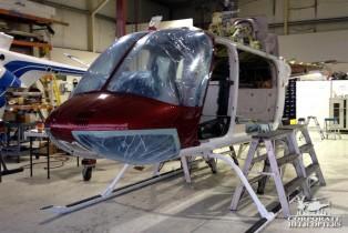Bell 206L3 Overhaul, In-progress