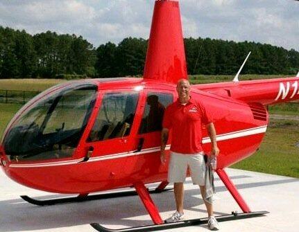 Greg Simons, flight training graduate