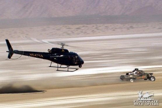 Aerial Race Support Helicopter