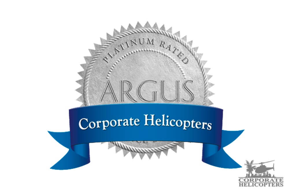 Corporate Helicopters Attains Coveted ARGUS Platinum Rating