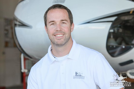 Clint Surginer, Business Development & Helicopter Sales, Corporate Helicopters of San Diego.