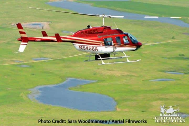 LiDAR helicopter