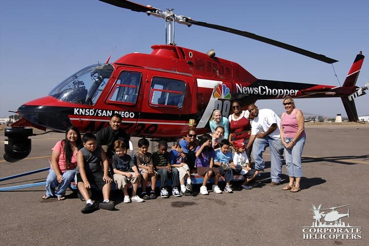Helicopter field trip