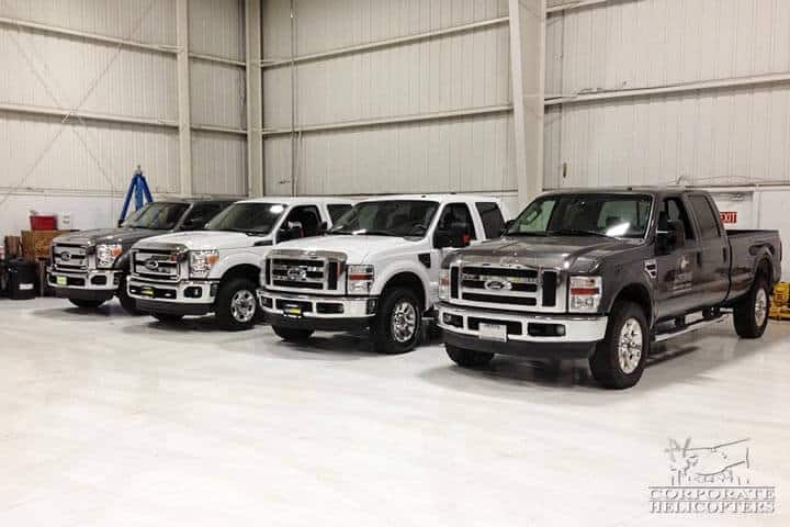 Ford Super Duty support trucks
