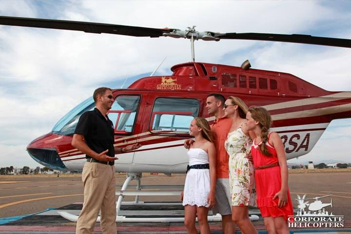 Helicopter tours of San Diego