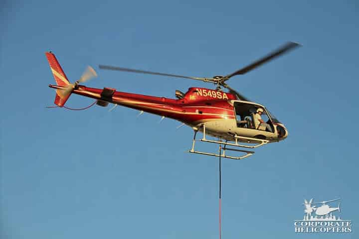 External load aerial crane helicopter