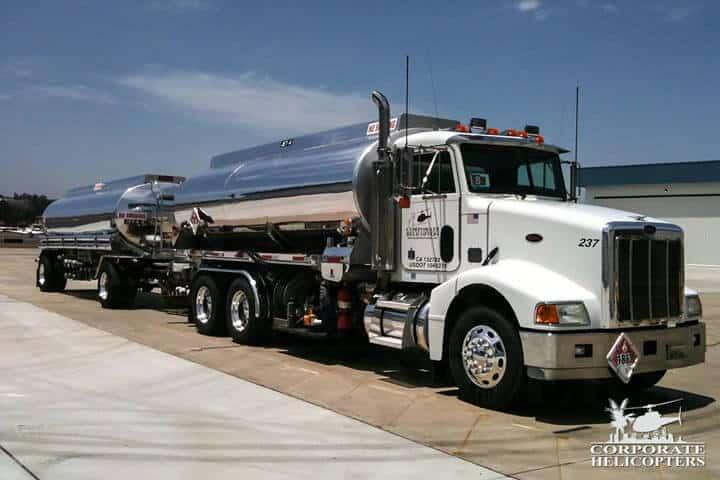 2002 Peterbilt fuel tanker