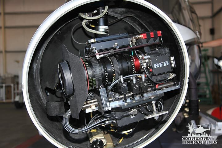 Helicopter camera and mount