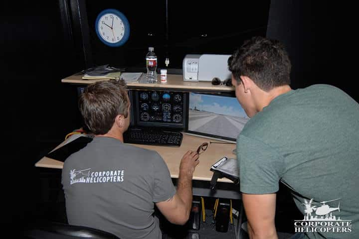 Our helicopter flight simulator allows students and commercial pilots in maintain a high level of proficiency at a fraction of the cost of actual flights.