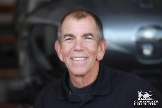 Gary Roesink, Chief Pilot at Corporate Helicopters of San Diego
