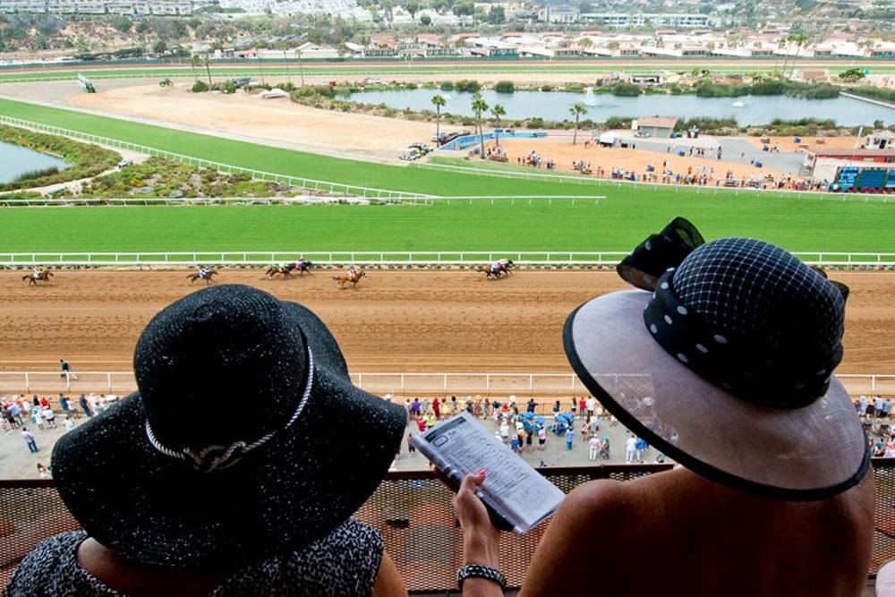 Del Mar Thoroughbred Club Opening Day