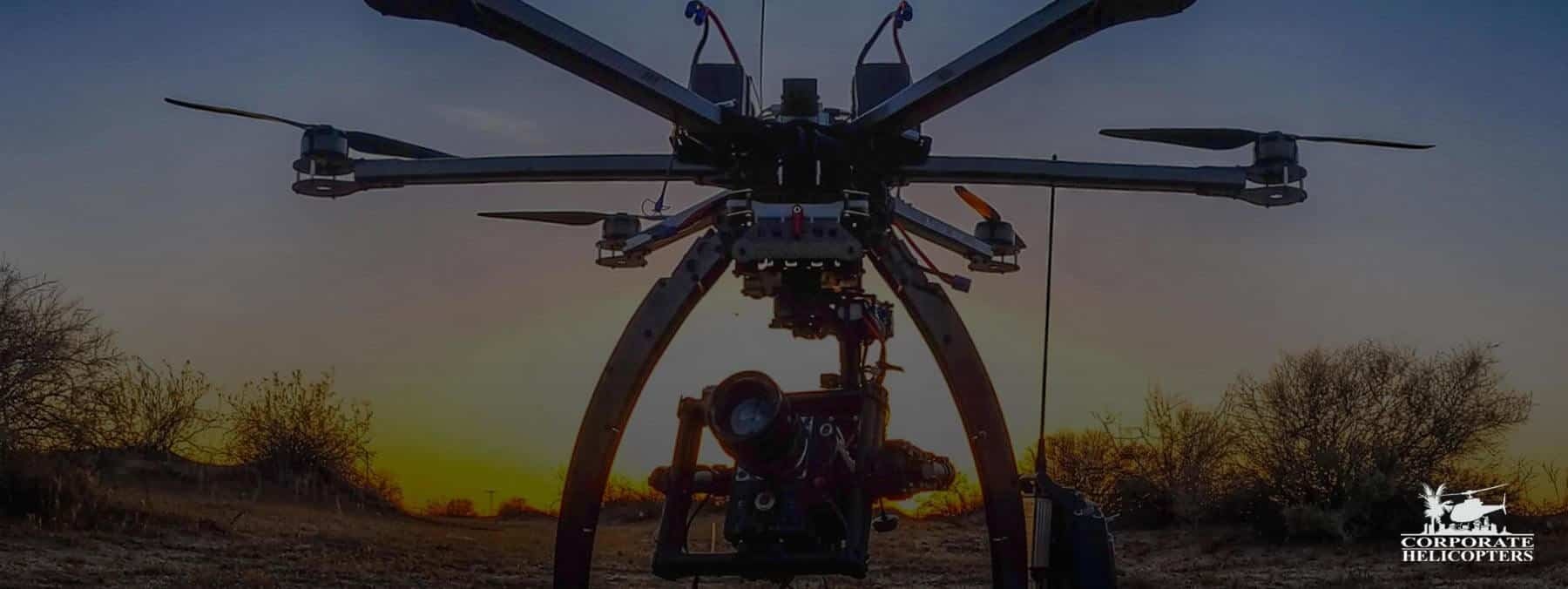 Full-service aerial cinematography by drone & helicopter.