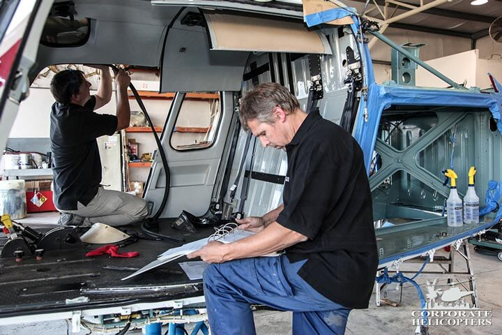 Eurocopter maintenance