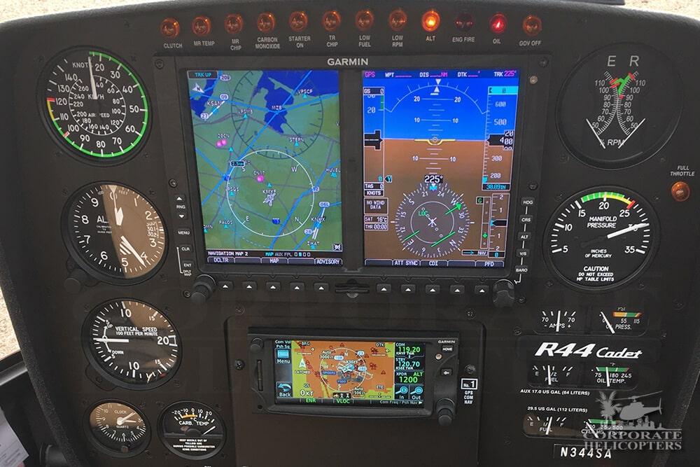 Garmin G500H panel
