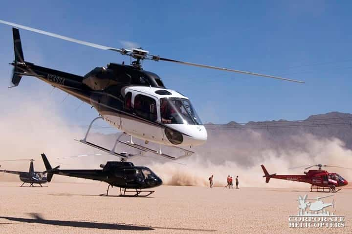 Group helicopter tours