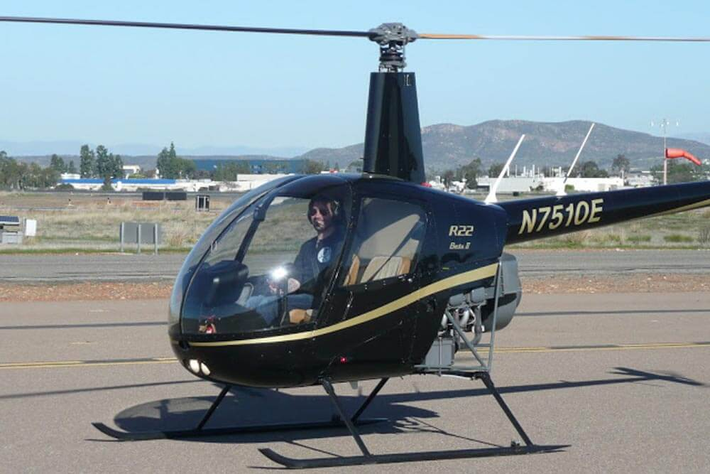 Commercial helicopter pilot