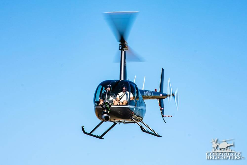 Demo Helicopter Flights for the Shotover B1 Camera
