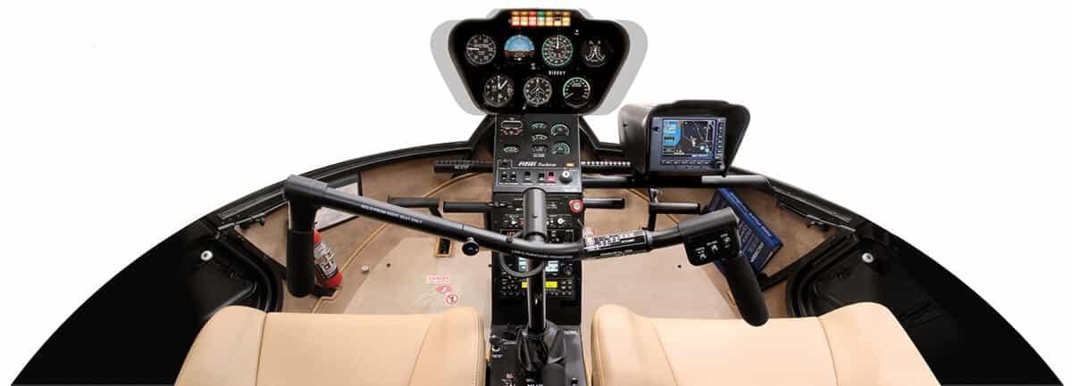 R66 cockpit.