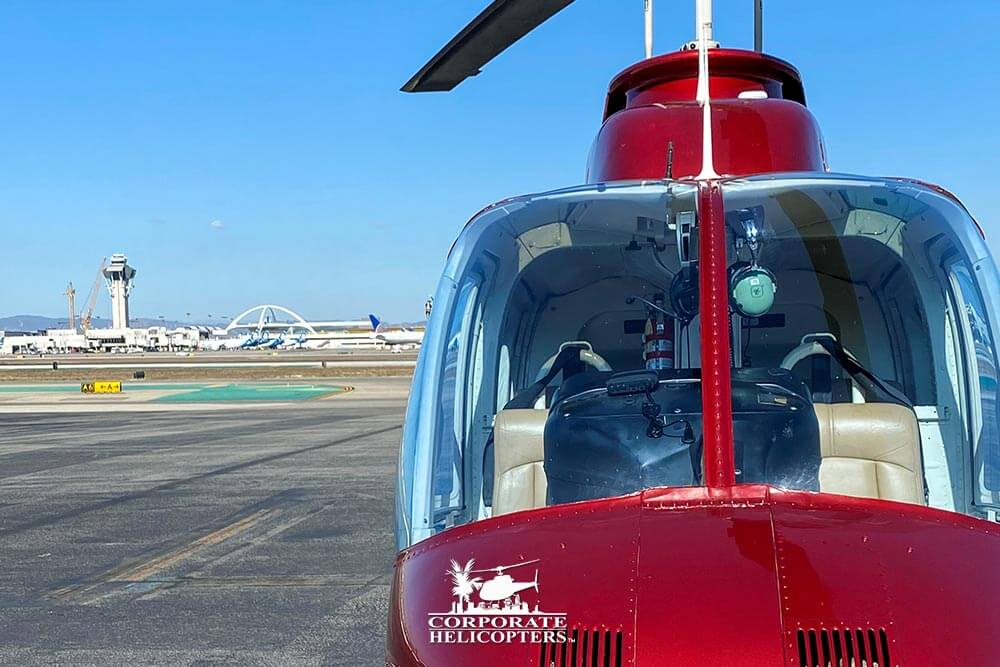 Get from San Diego to LAX in 55 minutes via helicopter charter from Corporate Helicopters of San Diego